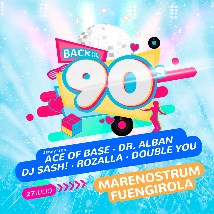 BACK TO THE 90'S 2019 FUENGIROLA - Marenostrum