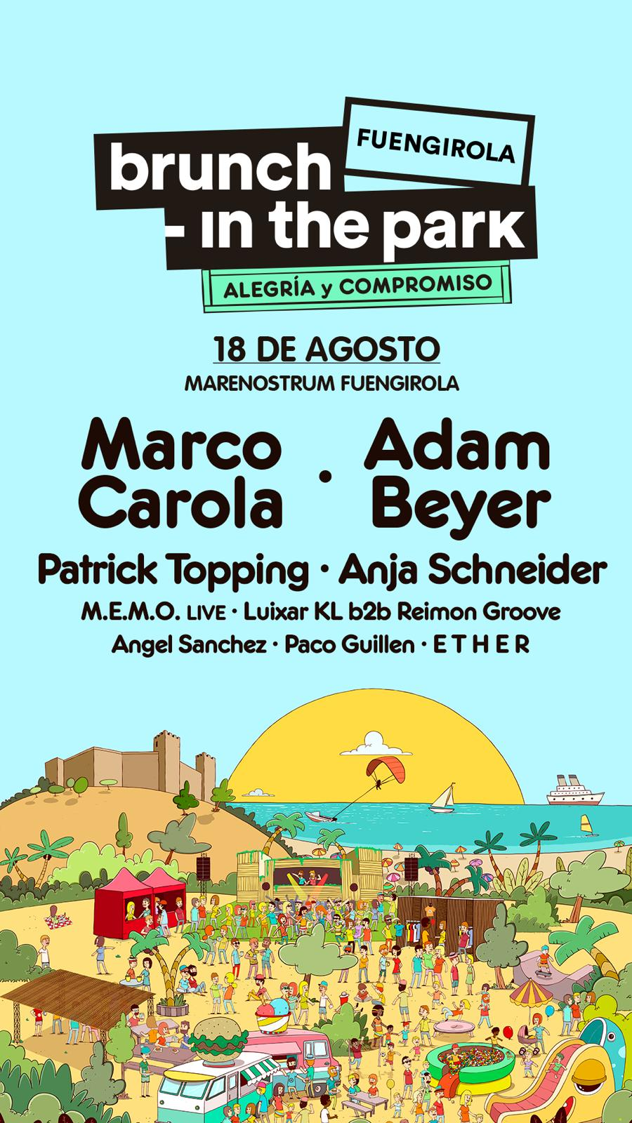 BRUNCH IN THE PARK 2019 FUENGIROLA - Marenostrum