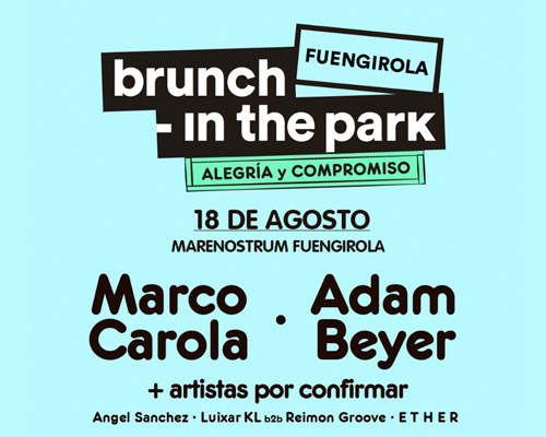 BRUNCH IN THE PARK - Marenostrum