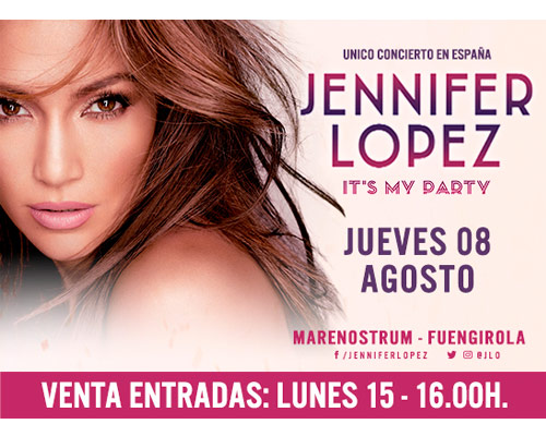 JENNIFER LOPEZ - Marenostrum