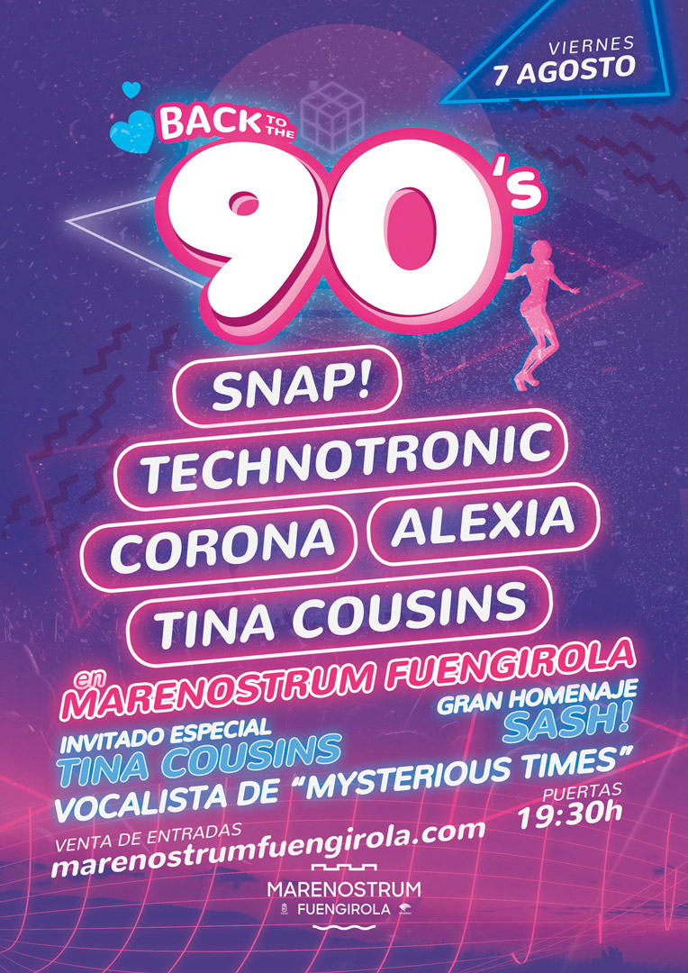 BACK TO THE 90s - Marenostrum Fuengirola