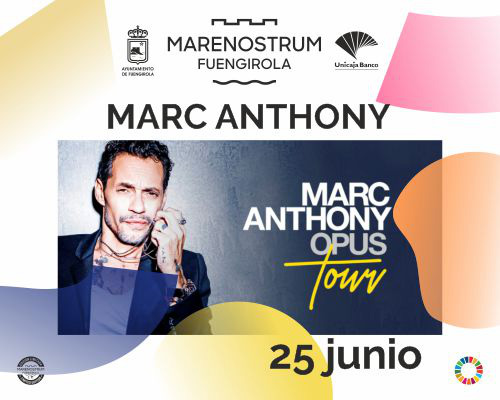 MARC ANTHONY - Marenostrum Fuengirola
